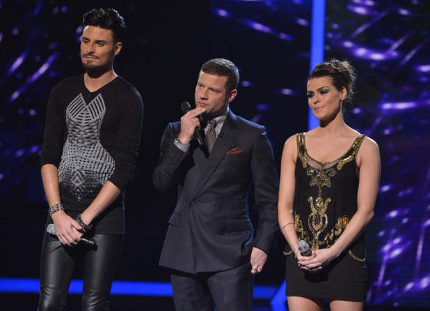 The X Factor Results Show: Carolynne and Rylan