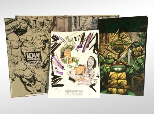 IDW Deluxe 'Teenage Mutant Ninja Turtles' collection