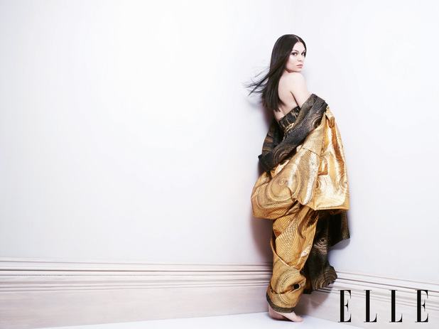 Jessie J Elle magazine photo shoot
