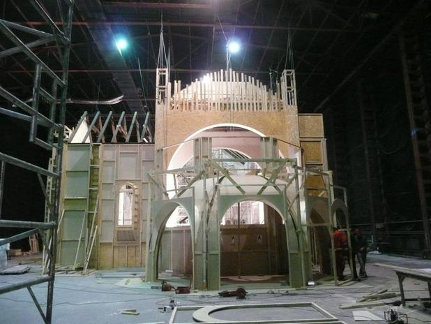 Terry Gilliam's The Zero Theorem set