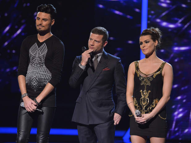 Rylan, Dermot and Carolynne