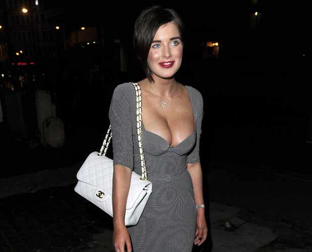 Helen Flanagan wearing a revealing Agent Provocateur dress Katherine Kelly's 'Coronation Street' leaving party at Place Manchester Manchester, England - 19.11.11 Mandatory Credit: Steve Searle/WENN.com
