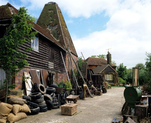 'The Darling Buds of May' TV Behind the Scenes Farm Location used for filming
