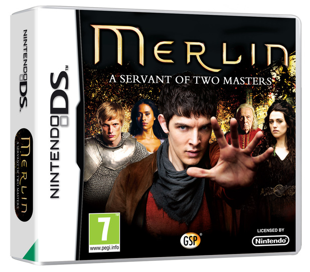 'Merlin: A Tale of Two Servants' 3DS pack shot