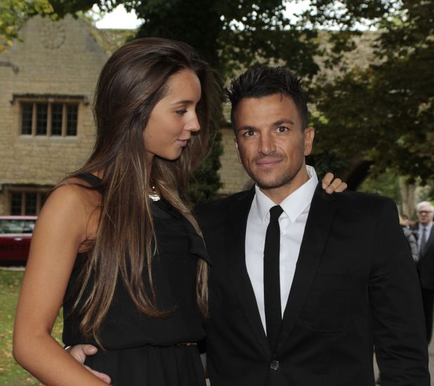 Peter Andre and girlfriend Emily McDonagh attend blue-plaque commemoration of Robin Gibb