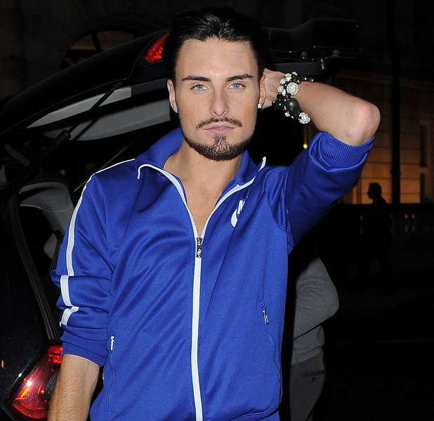 Rylan Clark X Factor contestant Rylan Clark arriving back at his hotel London, England - 04.10.12 Credit: (Mandatory): Will Alexander/WENN.com