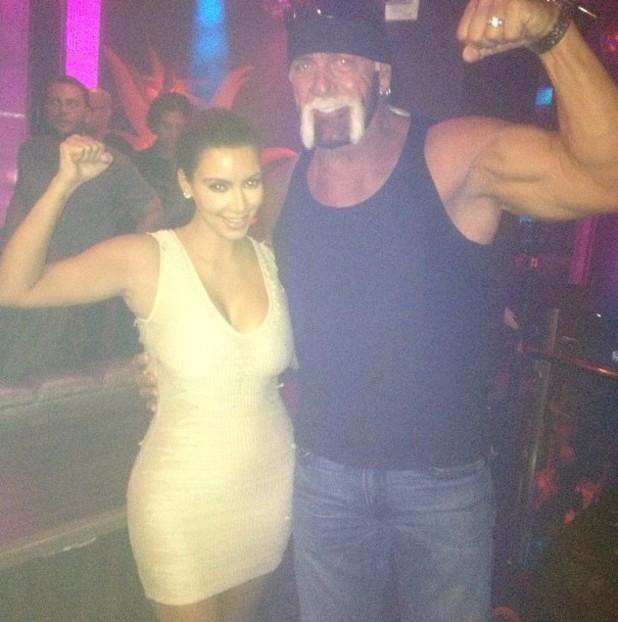 Kim Kardashian, Hulk Hogan