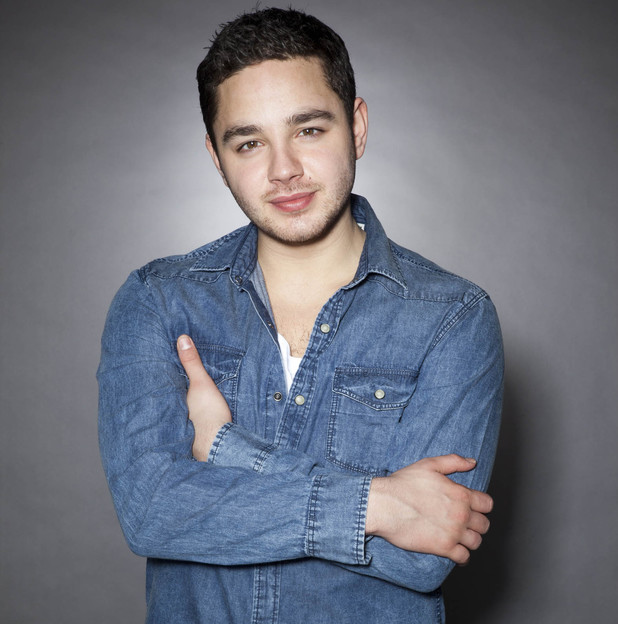 Adam Thomas as Adam Barton in Emmerdale