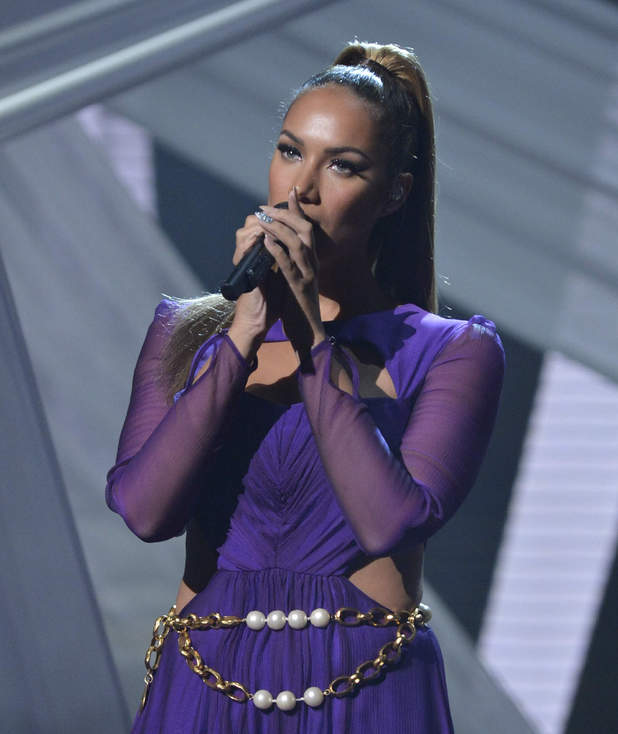 The X Factor Results Show: Leona Lewis