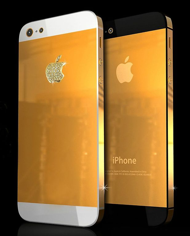 World's first solid 18ct gold iPhone 5