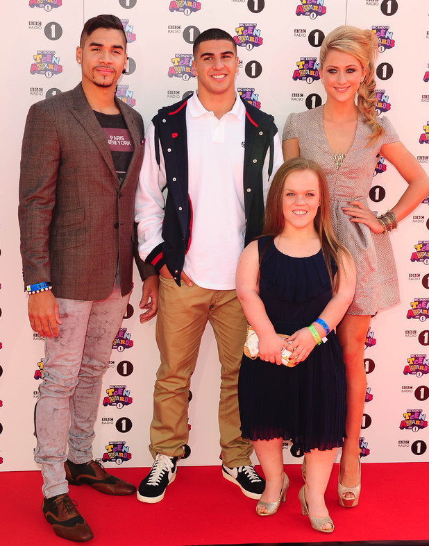 Louis Smith, Adam Gemili, Ellie Simmonds and Laura Trott