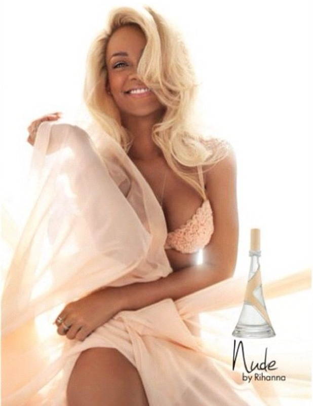 Rihanna advert for new perfume Nude