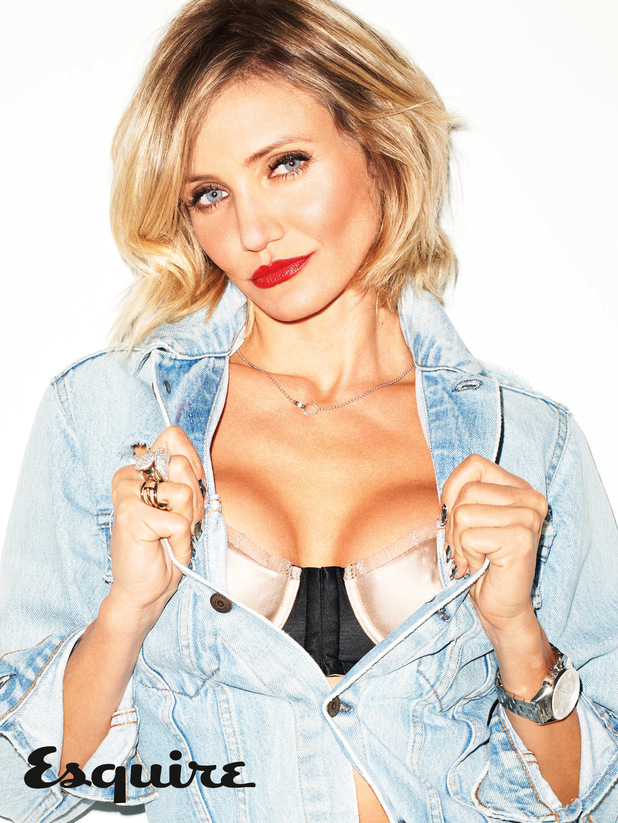 Cameron Diaz appears in Esquire magazine