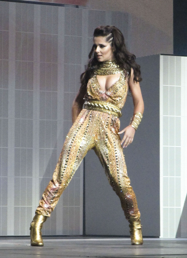 Cheryl Cole's Million Lights tour in Belfast 