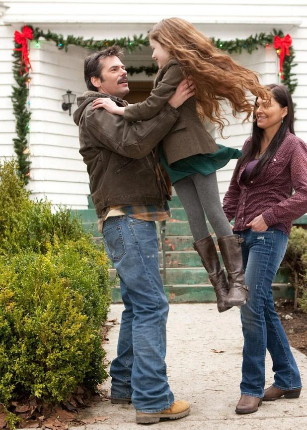 Charlie and Renesmee