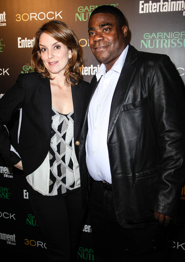 Tina Fey and Tracy Morgan attend Entertainment Weekly and NBC's celebration of the final season of 30 Rock New York, USA