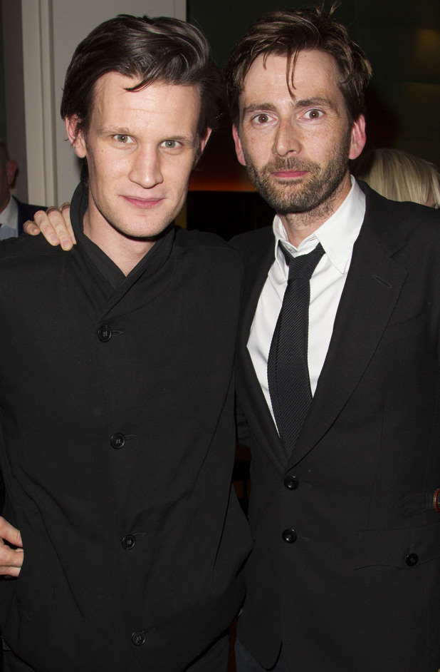 Matt Smith, &#39;Our Boys&#39; play press night after party, David Tennant