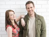 Neighbours stars Jordy Lucas and Aaron Jeffery