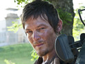 The Walking Dead star talks new episodes, fans and... snooker.