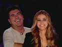 "Carmen Electra describes Simon Cowell as a ""sweetheart"" and ""adorable""."
