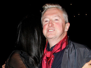 Louis Walsh and Nicole Scherzinger enjoy a night out at the Arts Club in Mayfair London, England
