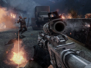 Medal of Honor Warfighter multiplayer map Sarajevo Stadium