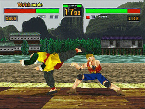 &#39;Virtua Fighter 2&#39; screenshot