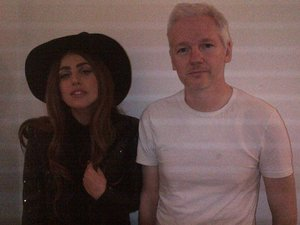 Lady GaGa, Julian Assange, Little Monsters