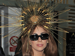 Lady Gaga leaving Harrods. London