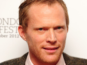 Paul Bettany arriving at the official screening of Blood at the BFI London Film Festival at Odeon West End, Leicester Square, London.