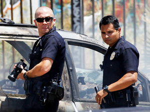 End of Watch, starring Jake Gyllenhaal and Michael Peña