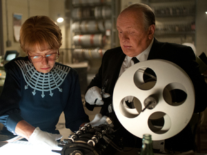 Helen Mirren and Anthony Hopkins in 'Hitchcock'
