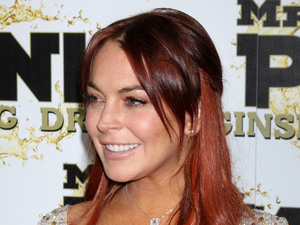 Lindsay Lohan Mr. Pink's Ginseng Energy Drink launch at the Beverly Wilshire Hotel - ArrivalsBeverly Hills, California - 11.10.12 Mandatory Credit: Nikki Nelson / WENN.com