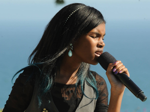 The X Factor USA: Diamond White at Judges' Houses