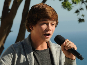 The X Factor USA: James Tanner at Judges' Houses