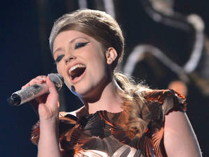 Ella Henderson performing on X Factor second live show.