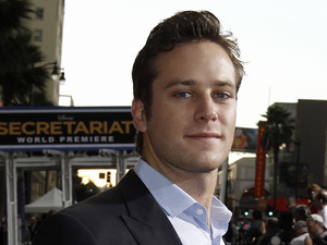 "Armie Hammer arrives at the premiere of ""Secretariat"" in Los Angeles, Thursday, Sept. 30, 2010."