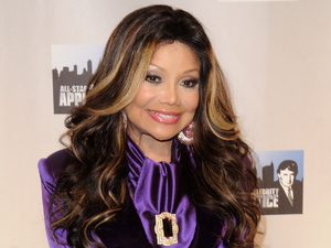 Latoya Jackson is announced as one of the contestants on NBC's Celebrity Apprentice: All-Stars' cast announced at Jack Studios.