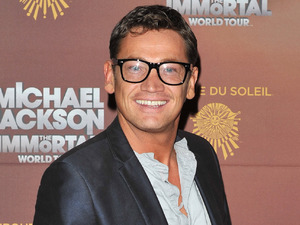 Sid Owen attends Michael Jackson: The Immortal World Tour, stage production of Cirque Du Soleil - European premiere held at The O2 Arena.