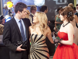 Chris, Natasha and Summer enjoy the ball.