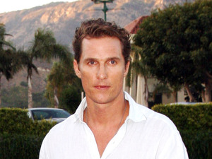 Matthew McConaughey at Nobu Los Angeles, California