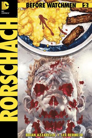 'Before Watchmen: Rorschach' #2 cover
