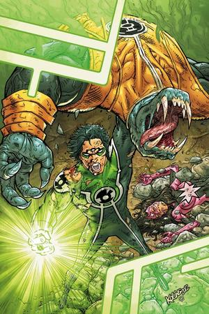 DC annuals: Green Lantern New Guardians