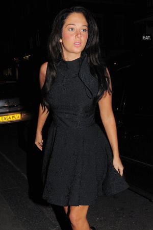 Tulisa Contostavlos, X Factor meeting