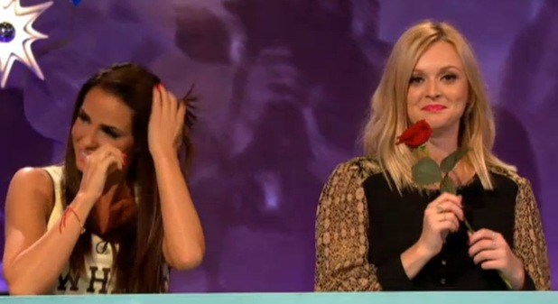 Jordan and Fearne on Celebrity Juice