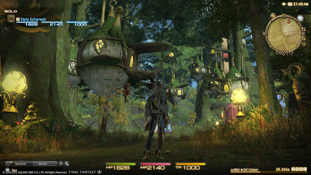 'Final Fantasy XIV: A Realm Reborn' screenshot