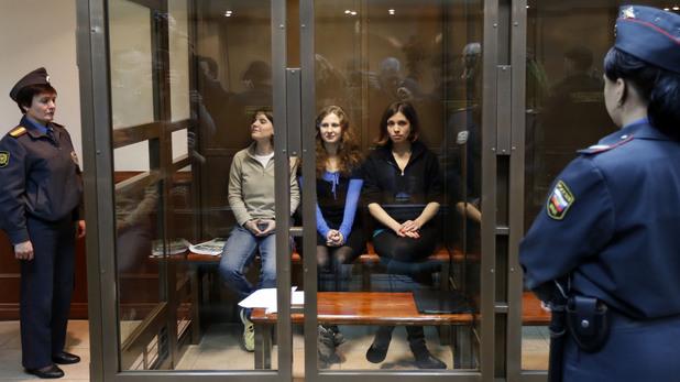 Pussy Riot, Katerina Samutsevich, Maria Alekhina, Nadezhda Tolokonnikova