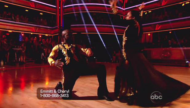 Dancing With The Stars S15E05: Emmitt Smith and Cheryl Burke