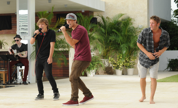 Emblem3 at The X Factor USA Judges' Houses
