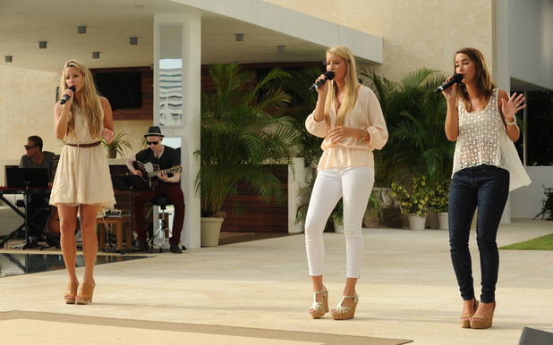 Sister C at The X Factor USA Judges' Houses